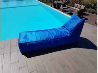 Cuscinone gigante lettino in tessuto per esterno