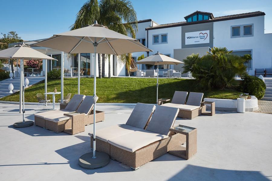 Arredo outdoor Resort Sicilia
